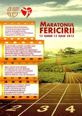 afis-Maratonul fericirii